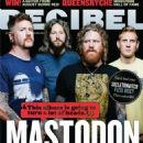 Bill Kelliher, Brann Dailor, Brent Hinds, Troy Sanders - Decibel Magazine Cover [United States] (October 2011)