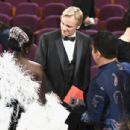 Viggo Mortensen, Lupita Nyong'o and Ariadna Gil At The 91st Annual Academy Awards - Show - 454 x 305