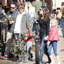 Rebecca Gayheart and her daughter Billie and Georgia are spotted out shopping at The Grove in Los Angeles, California on March 31, 2016 - 454 x 493