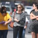 Robin Wright – Walk with her friends in West Hollywood - 454 x 303