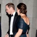 Prince William Windsor and Kate Middleton visit attend the St. Andrews 600th Anniversary Dinner (December 9, 2014)