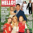 Steven Gerrard, Alex Curran - Hello! Magazine Cover [United Kingdom] (9 June 2014)