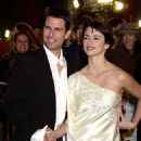 Penelope Cruz and Tom Cruise at the Hollywood premiere of Vanilla Sky - 12/10/2001
