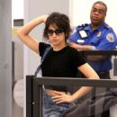 Camila Cabello at LAX Airport in Los Angeles - 454 x 681