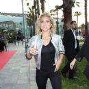 Elsa Pataky Attends Denim Day in Barcelona