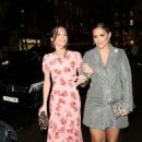 Jacqueline Jossa Osborne and Helen Flanagan – spotted out and about in Mayfair - 454 x 681