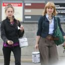 Kristin Kreuk and Allison Mack – Shopping in Vancouver - 454 x 400