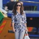 Pippa Middleton: arrives for work in Chelsea