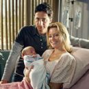 Zach Braff and Elizabeth Banks