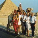 Betty Brosmer  with Joe Weider (husband) & Lou Ferrigno - 454 x 352