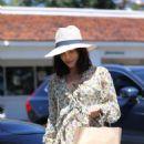 Jenna Dewan in Long Summer Dress – Out in Beverly Hills
