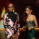 Rupaul and Zendaya At The 71st Emmy Awards (2019) - 449 x 600