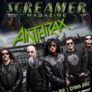 Anthrax - Screamer Magazine Cover [United States] (March 2016)
