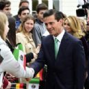 Mexican President Enrique Pena Nieto on Visit to Germany