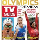 Simone Biles - TV Guide Magazine Cover [United States] (8 August 2016)