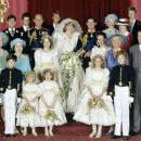 Lady Diana Spencer and Prince Charles wedding - 29 July 1981 - 454 x 380