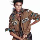 Caroline Ribeiro - Elle Magazine Pictorial [Brazil] (November 2015) - 454 x 608