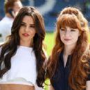 Cheryl Tweedy and Nicola Roberts – GAME4GRENFELL charity football match – London