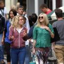 Fearne Cotton: in central London