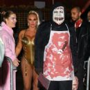 Nicole Coco Austin – Arrives at Heidi Klum's Halloween Party in New York