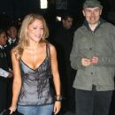 Billy Corgan and Jackie Johnson arriving at STK restaurant West Hollywood, California - 11.06.09 - 454 x 368