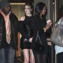 Leighton Meester - Leaving Madison Square Garden, 2009-12-11