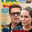 Angelina Jolie, Brad Pitt - VSD Magazine Cover [France] (13 July 2016)