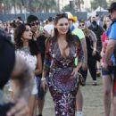 Kelly Brook Coachella Music Festival Weekend 2 In Indio
