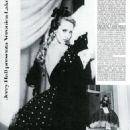 Jerry Hall - Vogue Magazine Pictorial [Italy] (February 1982) - 454 x 624