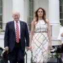 Melania Trump – White House Congressional Picnic in Washington - 454 x 305