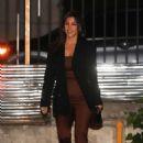 Kourtney Kardashian – Has dinner with a friend at Matsuhisa in Beverly Hills