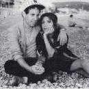Carrie Fisher and Paul Simon - 454 x 438