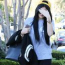 Kylie Jenner Heading To Johnny Rockets With A Friend In Calabasas