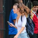 Charlotte Le Bon out and about in the East Village in New York City, New York on August 5, 2016 - 422 x 600