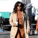 Priyanka Chopra – On location with the cast of Quantico in New York City - 454 x 763