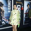 Tessa Thompson – 'Creed 2' Premiere in New York - 454 x 628