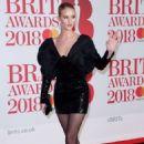 Rosie Huntington Whiteley – 2018 Brit Awards in London adds - 454 x 690