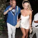 Pamela Anderson at the Chateau Marmont in West Hollywood October 3, 2014