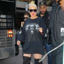 Christina Aguilera – Arrived at Radio City Music Hall in New York