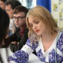 Actress Bella Heathcote attends SiriusXM's Entertainment Weekly Radio Channel Broadcasts From Comic-Con 2016 at Hard Rock Hotel San Diego on July 21, 2016 in San Diego, California - 430 x 600