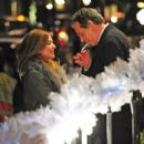 Charles Saatchi and Trinny Woodall were seen getting rather close outside 34 restaurant on Thursday evening - 454 x 402