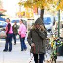 Sienna and Bess take a walk