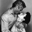 Faith Domergue and Jeff Chandler
