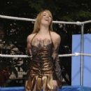 Katie Downes - Mud Wrestling With Emily Clark - Xena DVD Launch, London 29.05.07