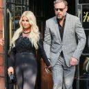 Jessica Simpson spotted outside The Bowery Hotel in New York City, New York on September 8, 2015
