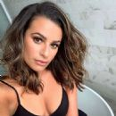 Lea Michele in Black Bikini For a New Photoshoot