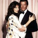 Roger Moore and Maud Adams