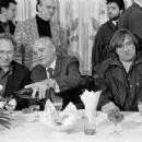 Pierre Richard, Gerard Depardieu, Mikhail Gorbachev - 454 x 302