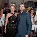 Emily VanCamp and Chris Evans - April 12, 2016- Premiere of Marvel's 'Captain America: Civil War' - Red Carpet