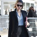 Kaia Gerber – Arriving at the Chanel Fashion Show in Paris